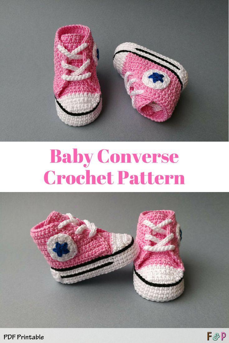 Crochet baby shoes, Crochet baby