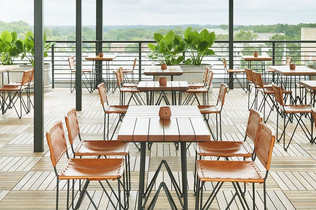 Rooftop Bar at The Durham Hotel in 2020 Durham hotel