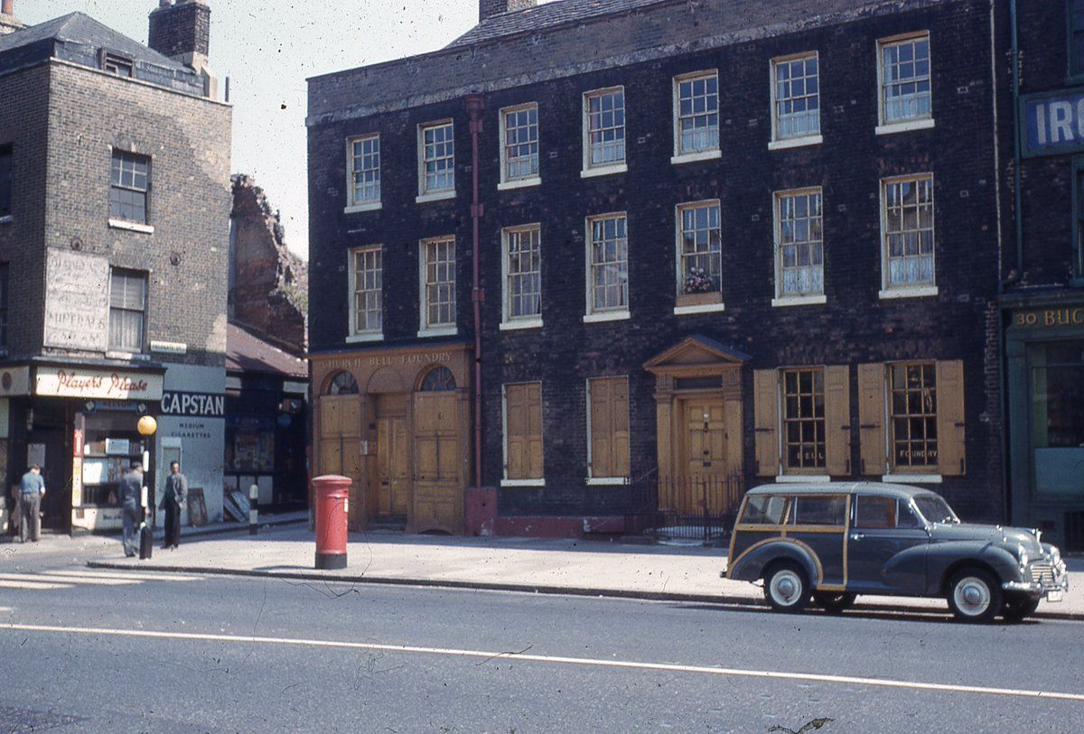 Whitechapel Bell Foundry, 1960s (LBTHA) London history