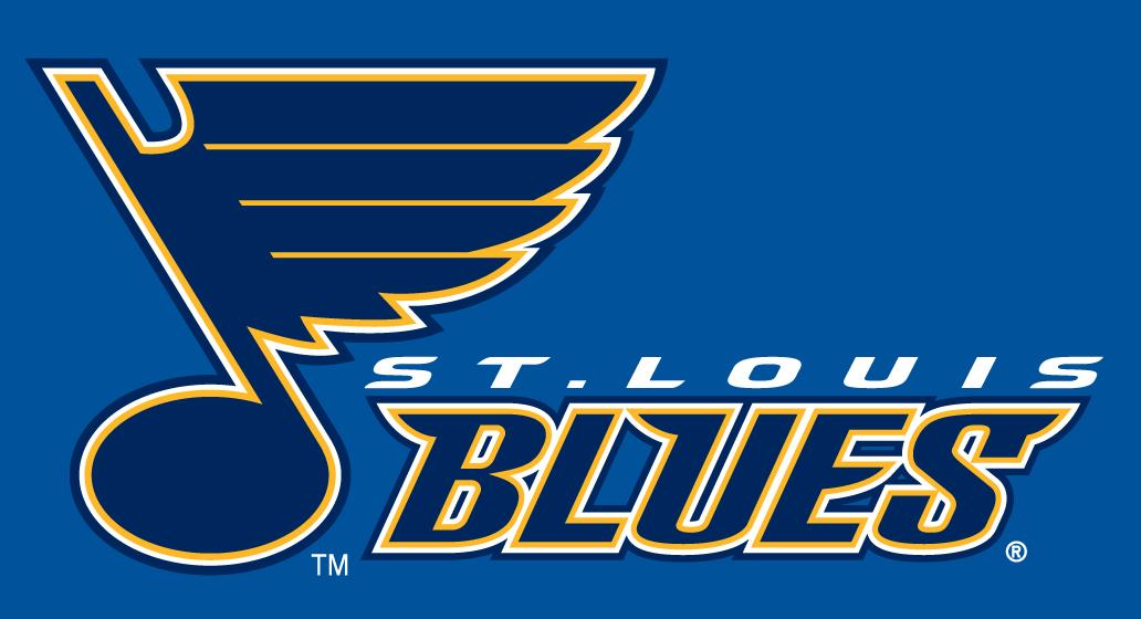 St Louis Blues Wordmark Logo St Louis Blues Word Mark Logo St Louis Blues Logo