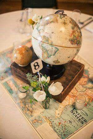 World Theme Traveling Theme Party Pinterest Wedding Bridal