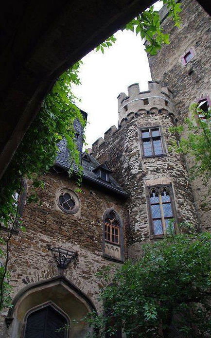 Medieval, Castle Lahneck, Germany ,from Iryna