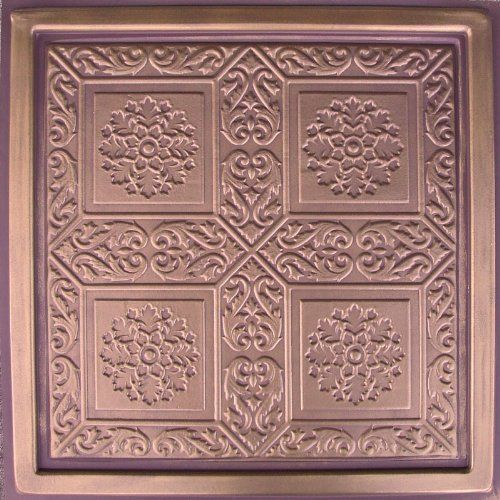 pvc tiles pin majesty copper ceiling antique ceilings patina