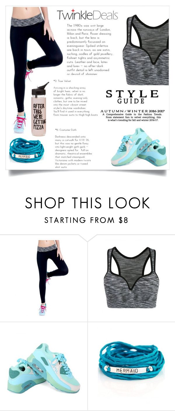 """""""TwinkleDeals 22"""" by maidaa12 ❤ liked on Polyvore featuring Blooming Lotus Jewelry, ban.do, fitness, Sports, activewear, sportwear and twinkledeals"""