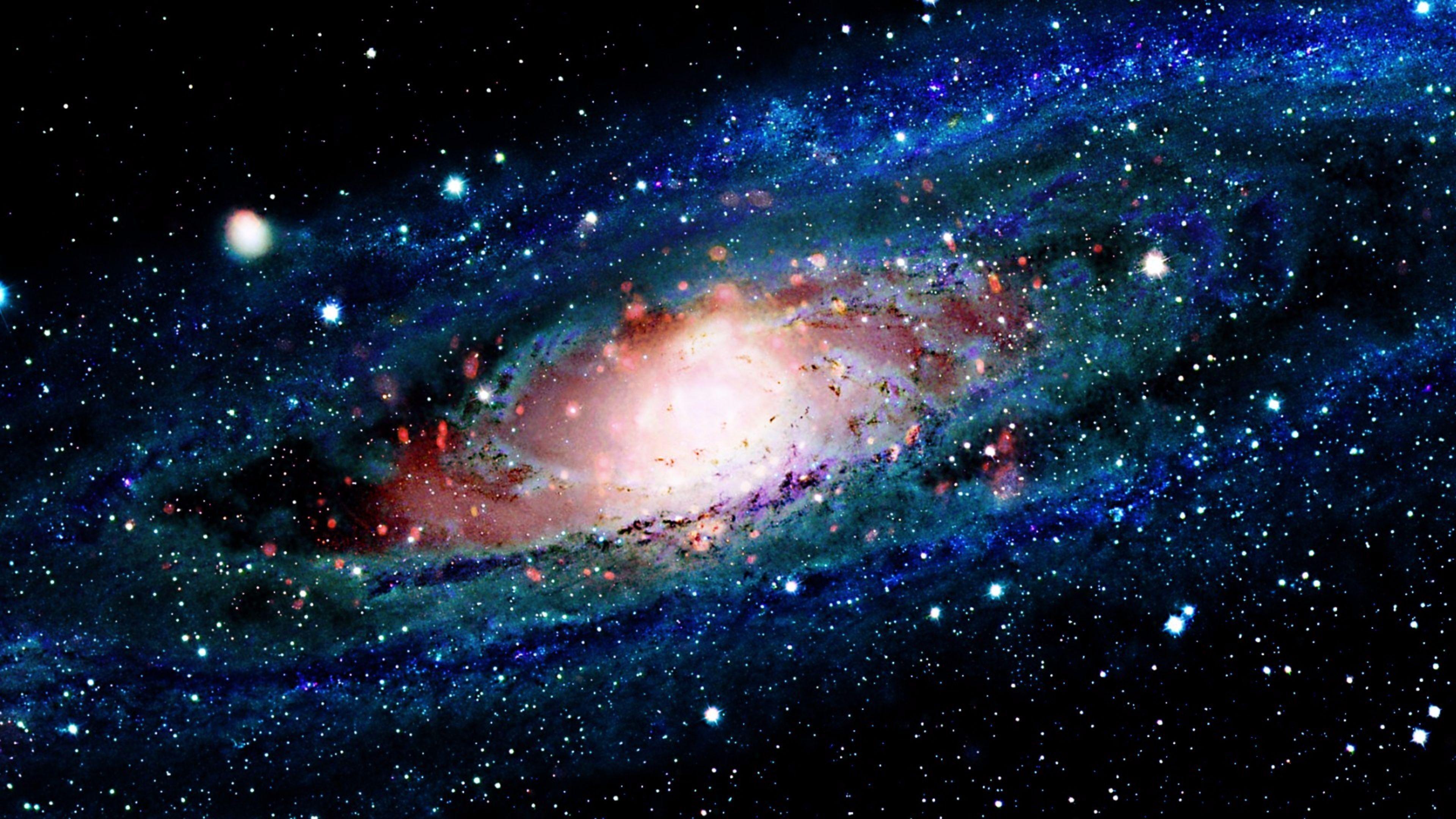 Res 3840x2160, 4K Space Wallpaper 7 Andromeda galaxy