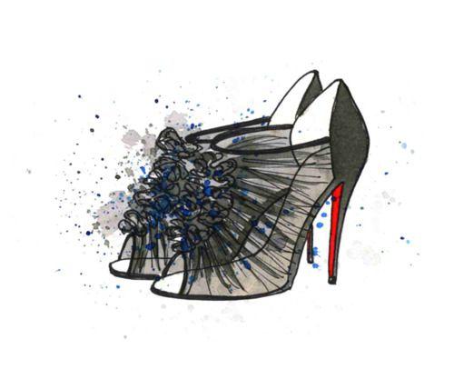 Loubi du Jour (With images)   Illustration art design
