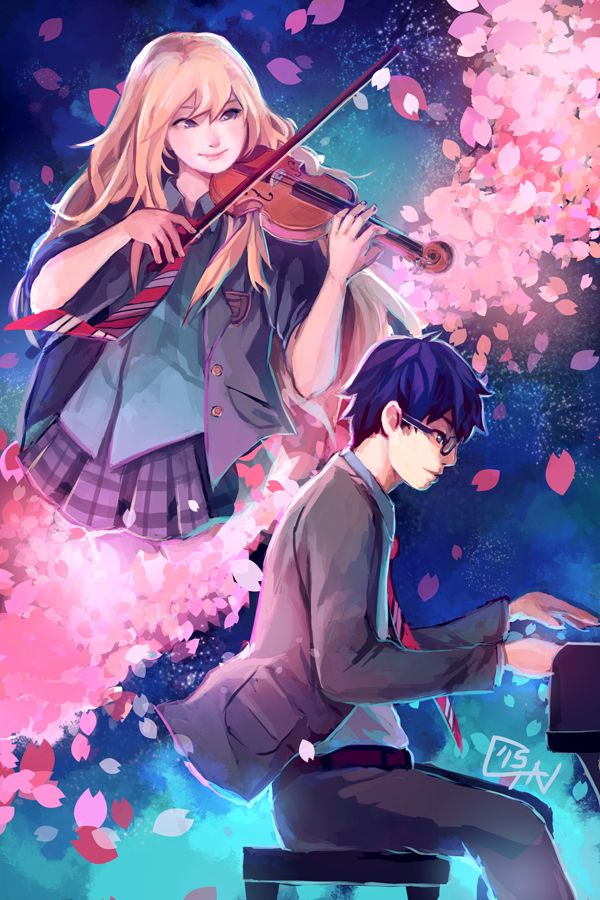 Produced With 100 Organic Tears Your Lie In AprilAnime