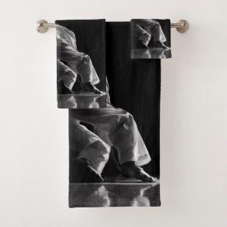 Lot de serviettes de bain TAEKWONDO Des Épreuves
