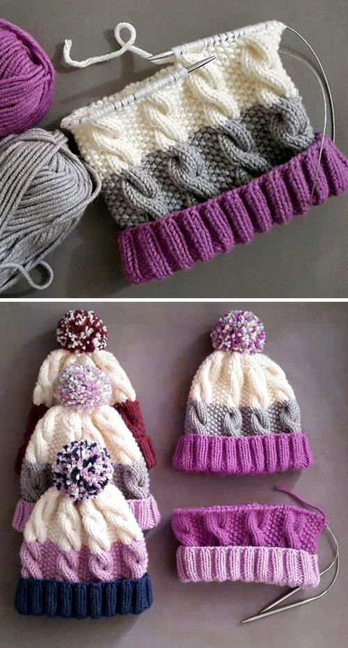 Photo of #pattern #cable #cozy #knit #free #hatCozy Cable Knit Hat – Kostenloses Strickmuster a