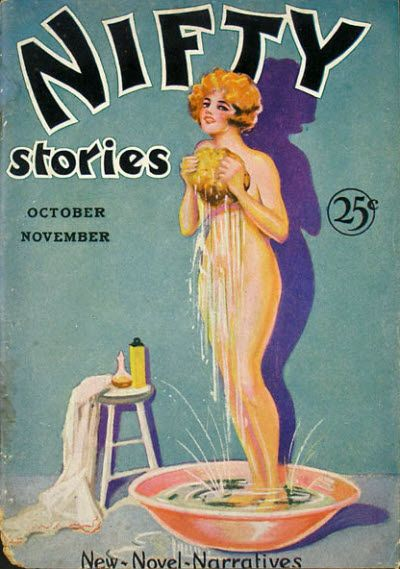 Oct Nov 1930 Nifty Stories Vintage Magazine Cover