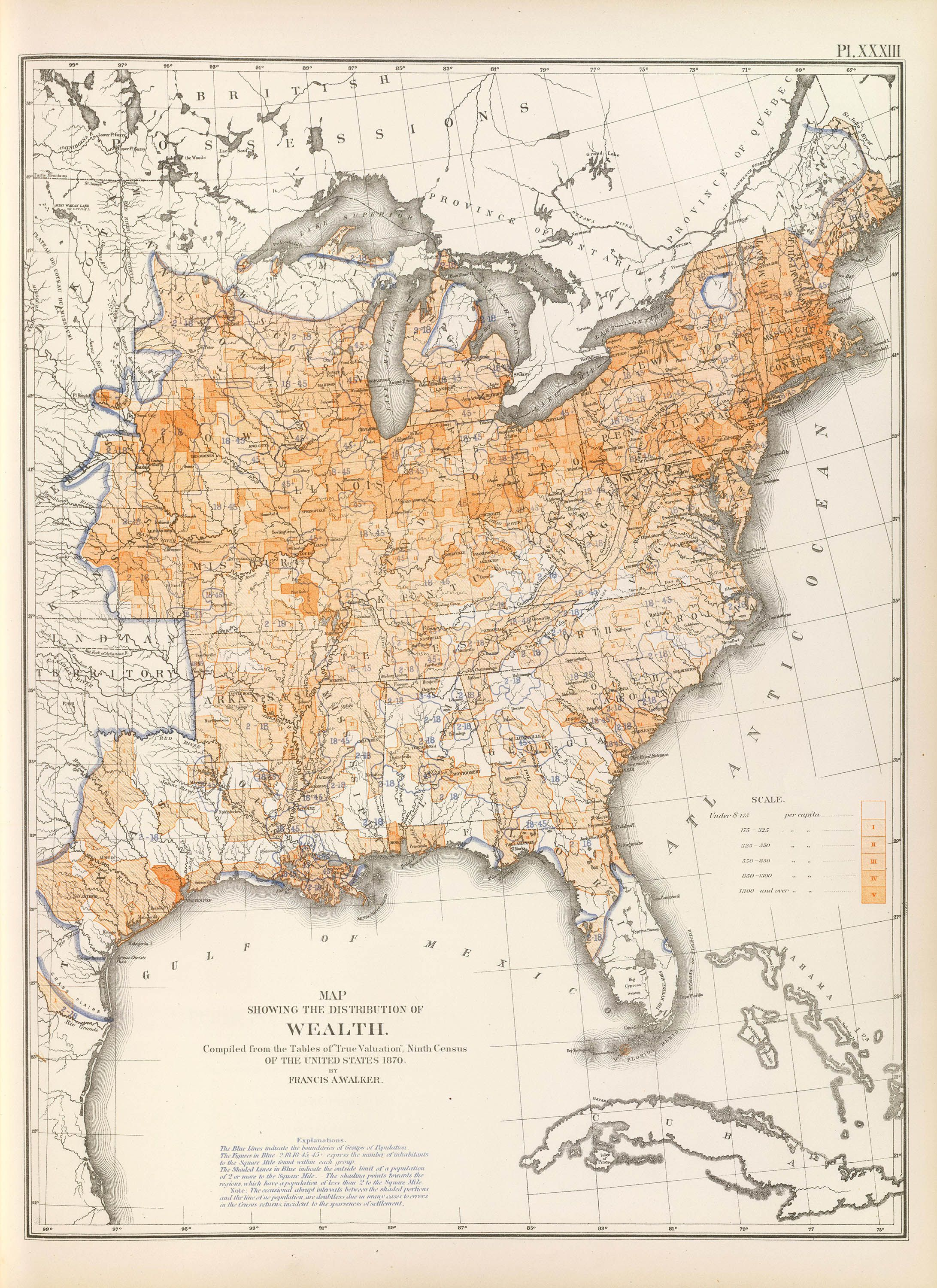 Thematic Map Of Usa on
