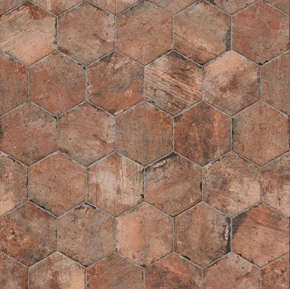 Gres porcellanato effetto cotto e cemento marazzi 6816 t for Marazzi cotto d italia