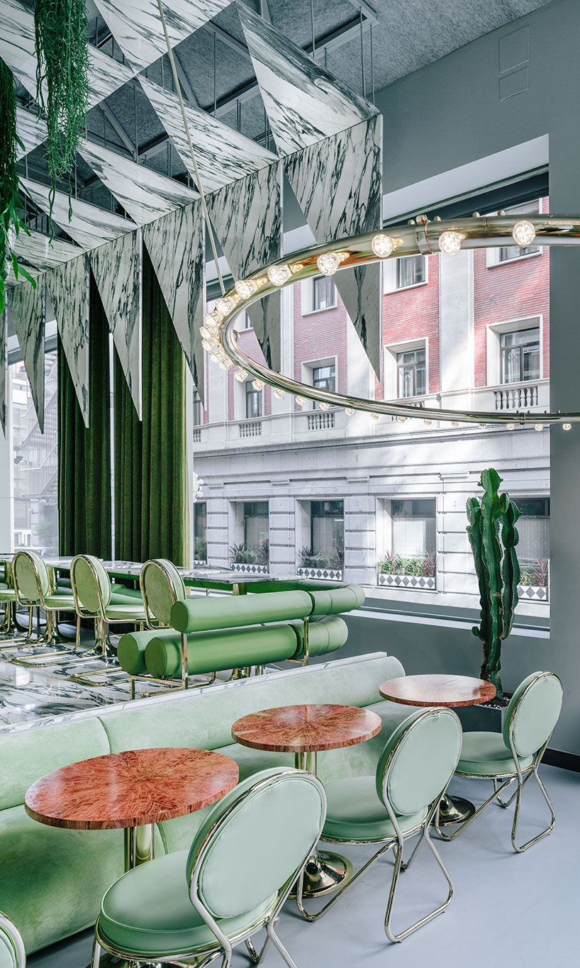 Andres Jaque Completes Romola Restaurant In Central Madrid