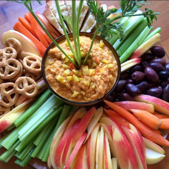 Carrot Hummus, I Love Bringing This To Dinner Parties With