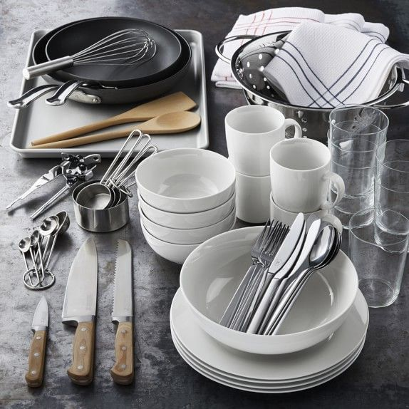 Williams Sonoma Open Kitchen Essentials Set Serves 4 Williams