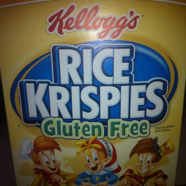 New to Gluten free world. Yum! | Kelloggs rice krispies ...