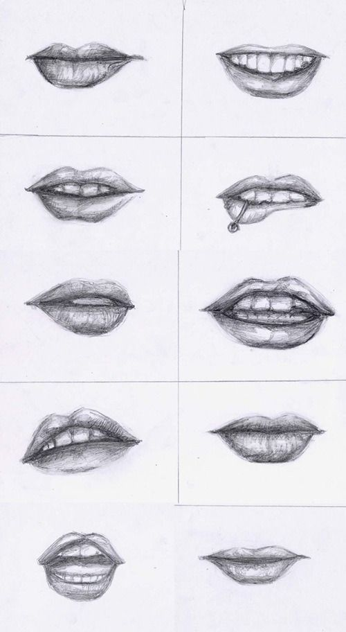 Lips - Reference by xoxtazxox