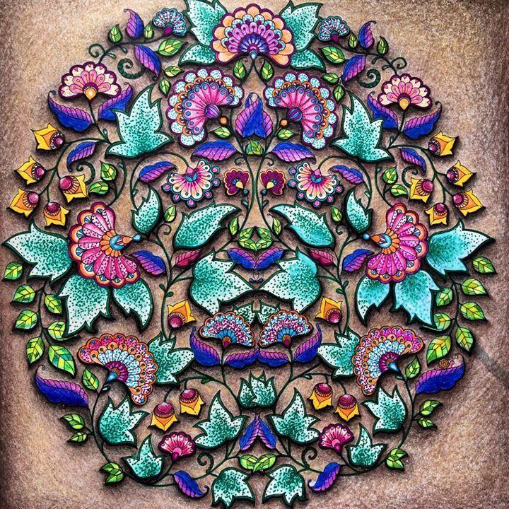 Inspirational Coloring Pages From Secret Garden Enchanted Forest And Other Books For Grown Ups Paginas Inspiradoras Dos Livros Jardim Secreto