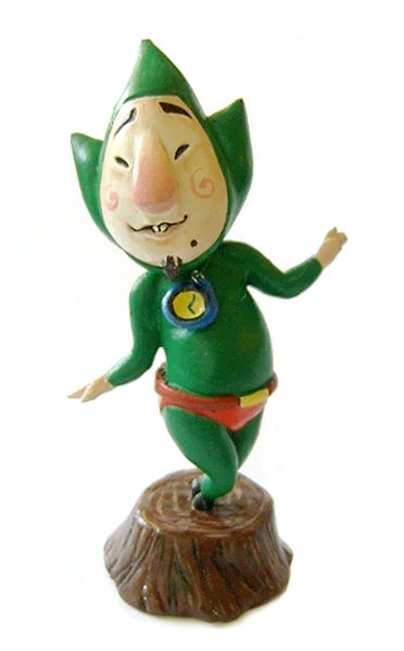 Tingle - Fan made painted figure by vrlovecats.