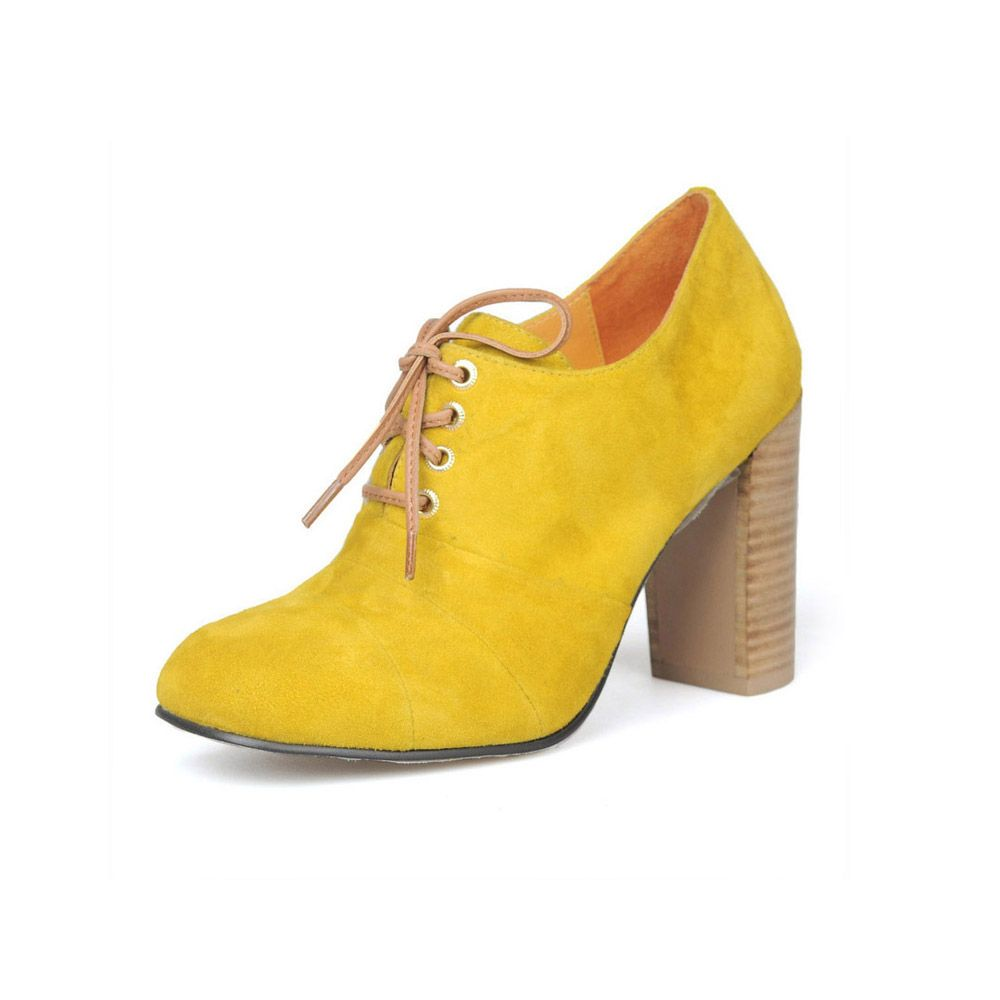 Women stella oxford yellow boots my love for shoes pinterest