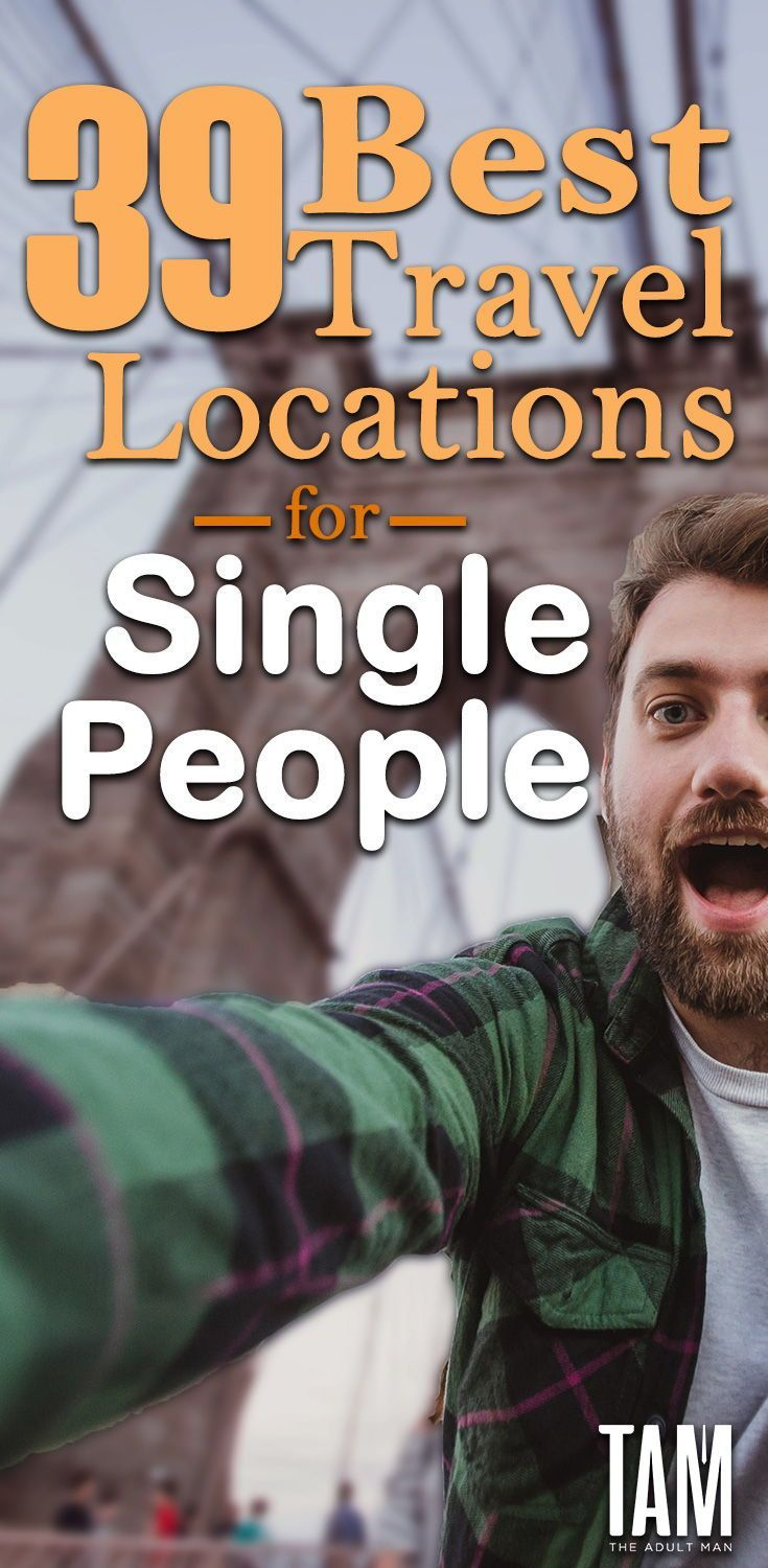 Vacation places for singles