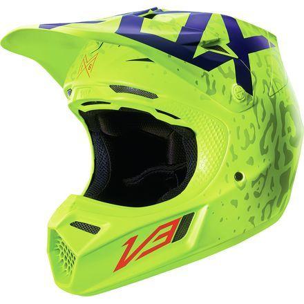 Dirt Bike Fox Racing 2016 V3 Helmet Cauz Motosport Motocross