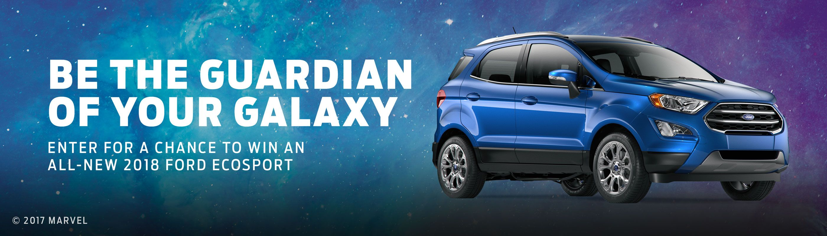 Win A 2018 Ford Ecosport Vehicle On Marvel Unstoppable You Sweepstakes