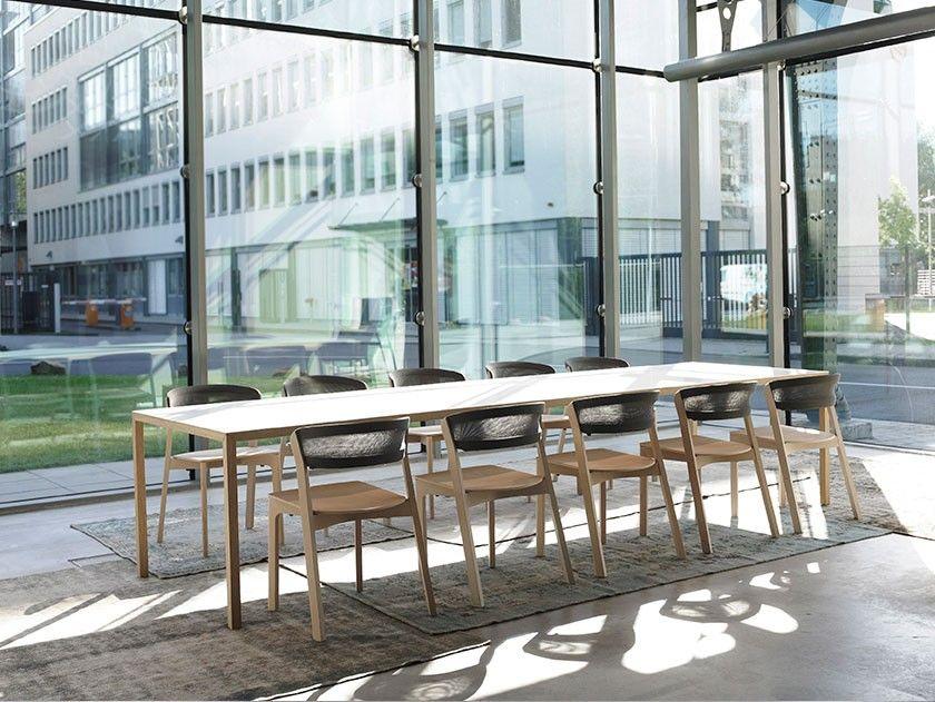 Arco slim tafel arco dutchdesign office kantoor vergadertafel