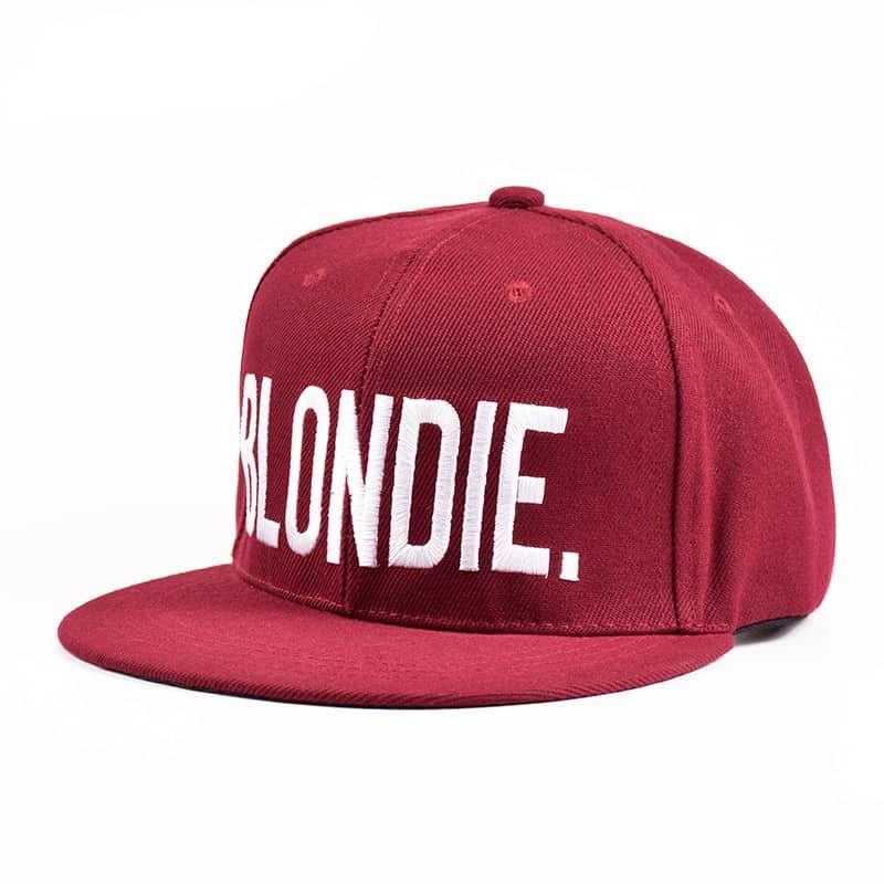 dd189c5e BLONDIE BROWNIE Burgundy Snapback Hat   GeekHats   Snapback hats ...