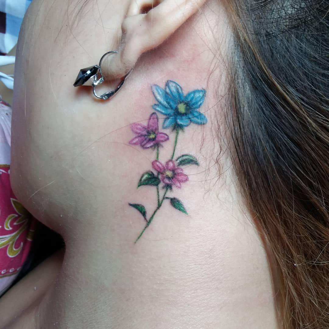 26+ Amazing Flower of life tattoo neck ideas