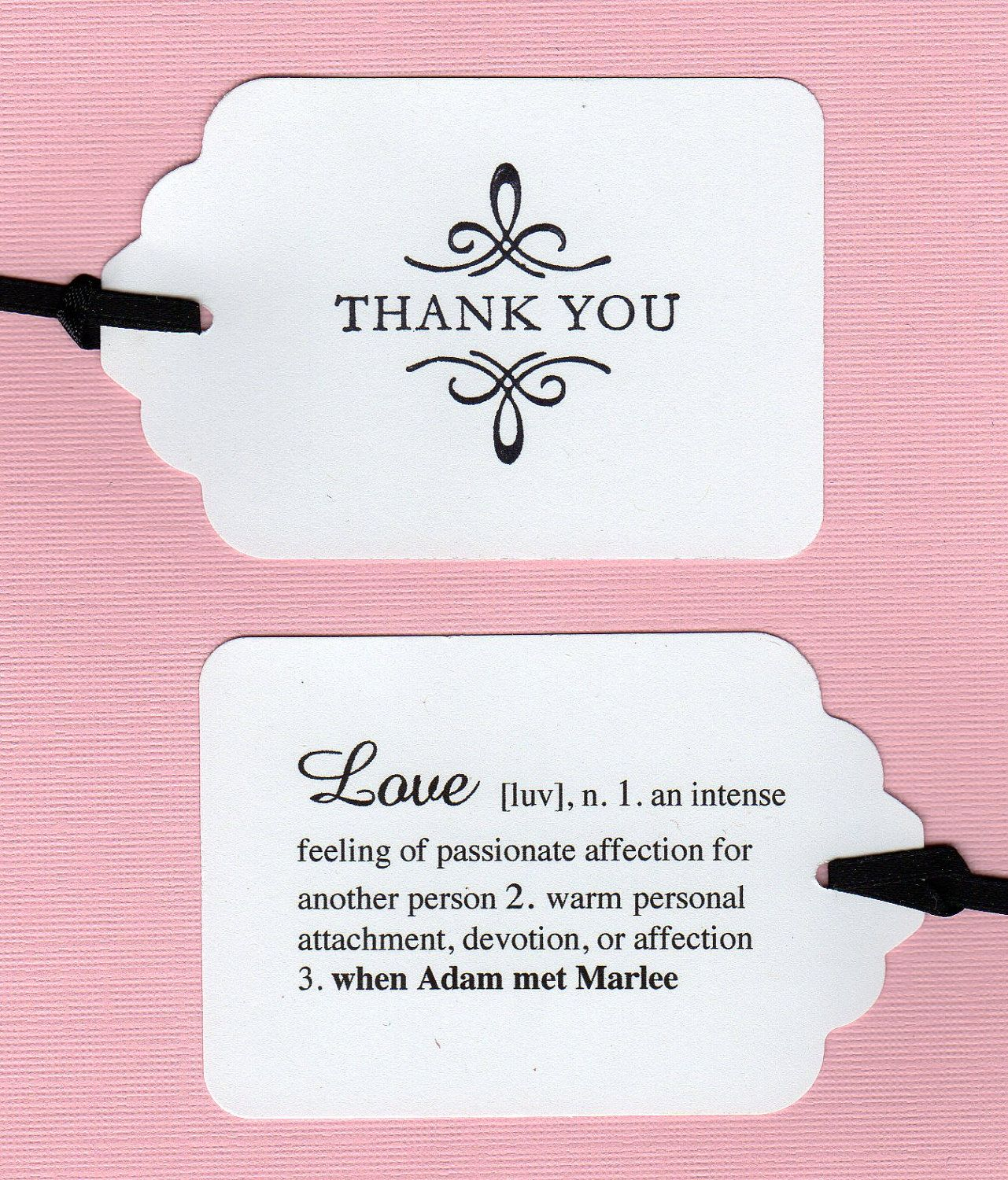 Custom Listing For Doulina - 70 Personalized Double Sided Thank You ...