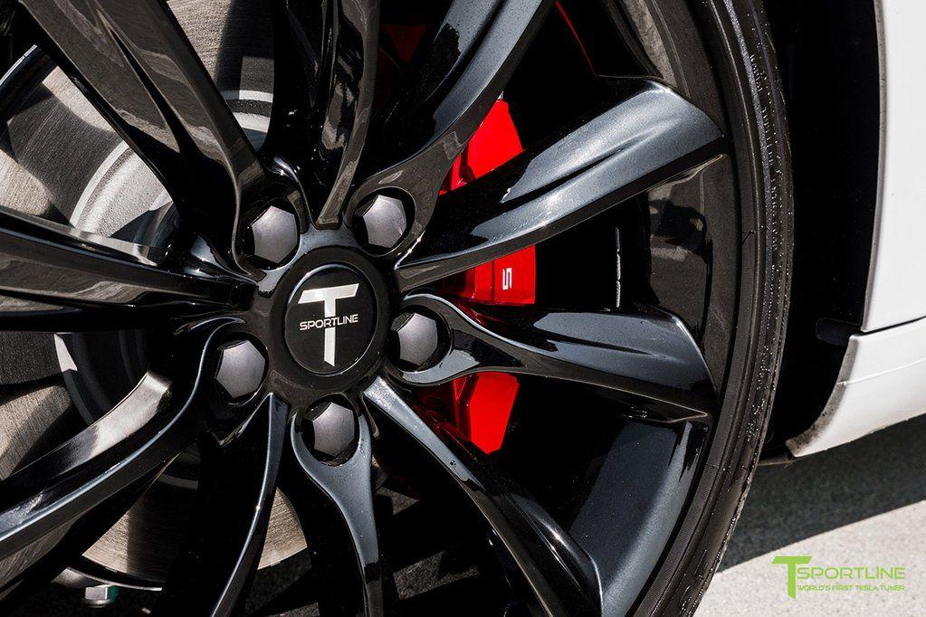 Tesla Model 3 Brake Caliper Color Change Custom Services By T Sportline Tesla Model Brake Calipers Tesla