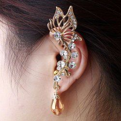 SHARE & Get it FREE | ONE PIECE Gorgeous Butterfly Ear Cuff For WomenFor…