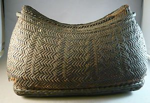 ifugao baskets | ANTIQUE-IFUGAO-PHILIPPINE-TRIBAL-HANDWOVEN-ETHNIC-RATAN-BASKET-BOX ...