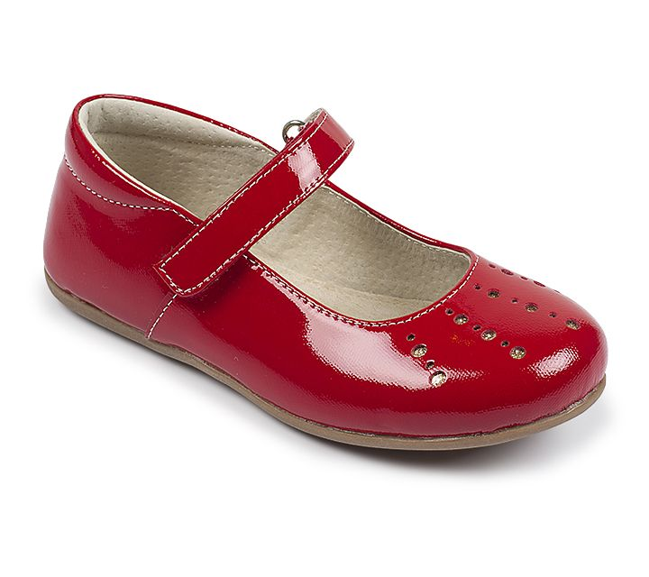 Kai by See Kai Run - Kimmie in Red Patent. This festive girls  Mary Jane  will help her shine this holiday season. dfd87d25f2a2