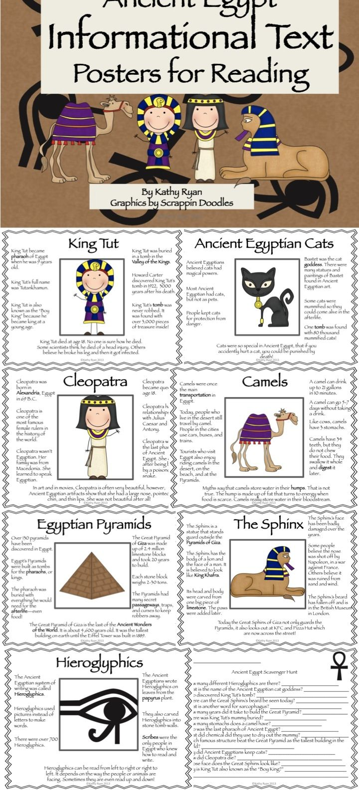 Ancient Egypt Informational Text