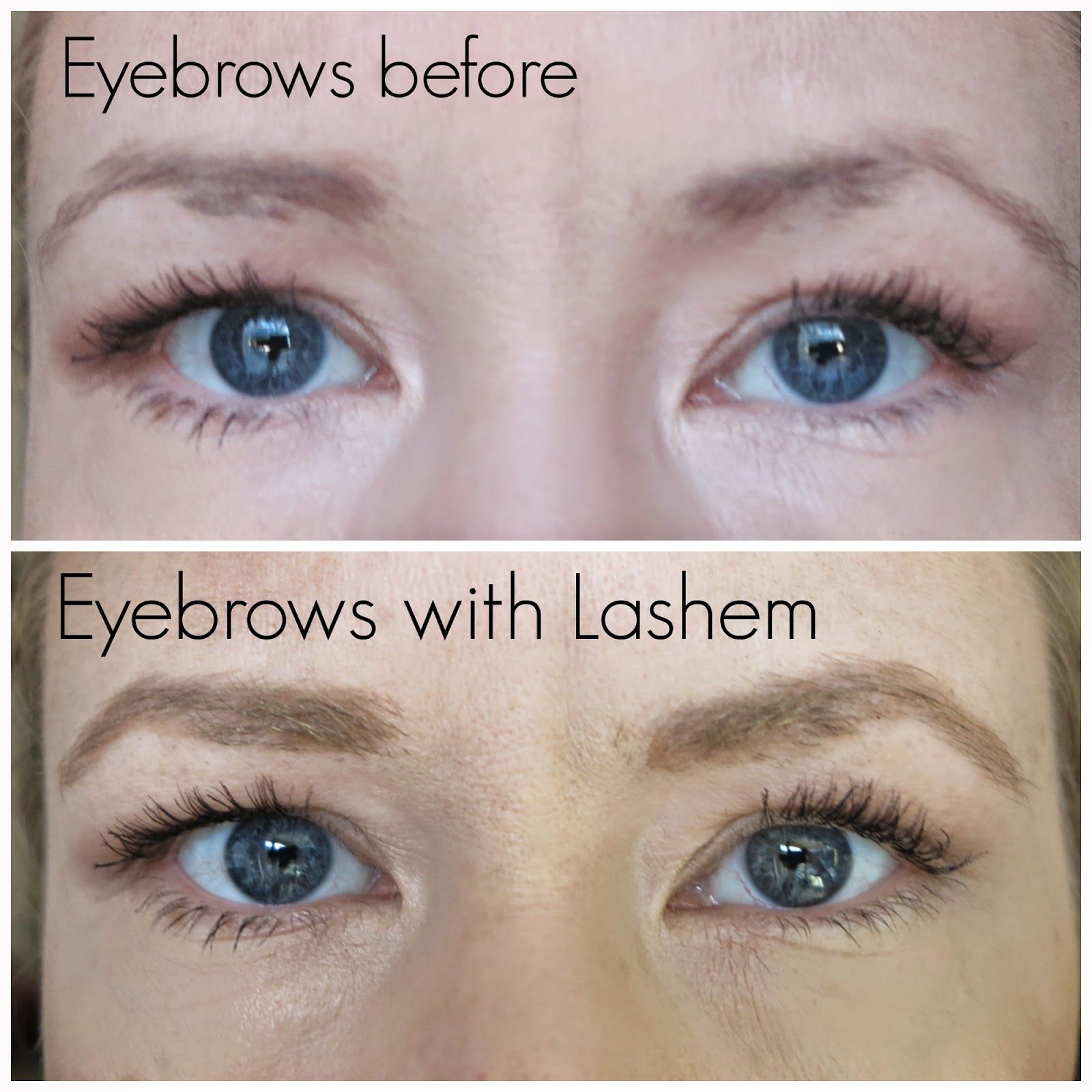 5fe05cb7375 LASHEM Color Strokes Brow Tint Lift with Lash Enhancing Serum Review ...