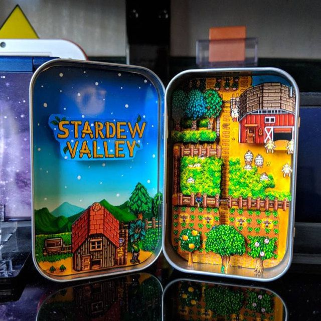 Altoid Tin Game Dioramas made by Janel Doucette -