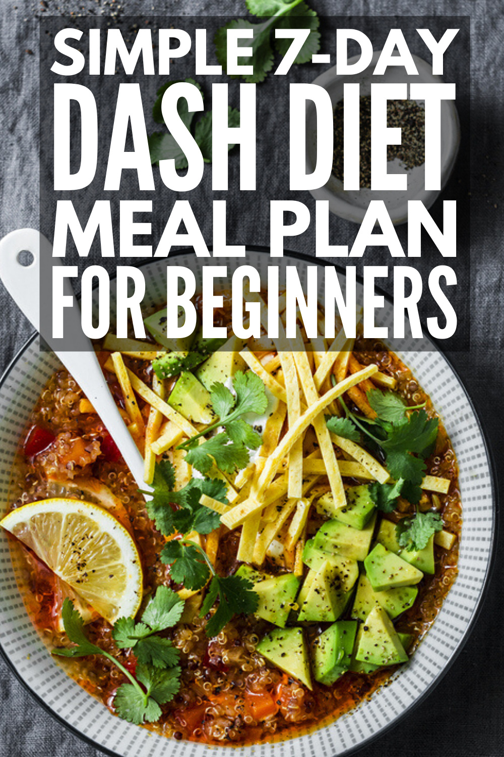 7-Day DASH Diet Meal Plan for Beginners | If you're looking for a meal plan to l...