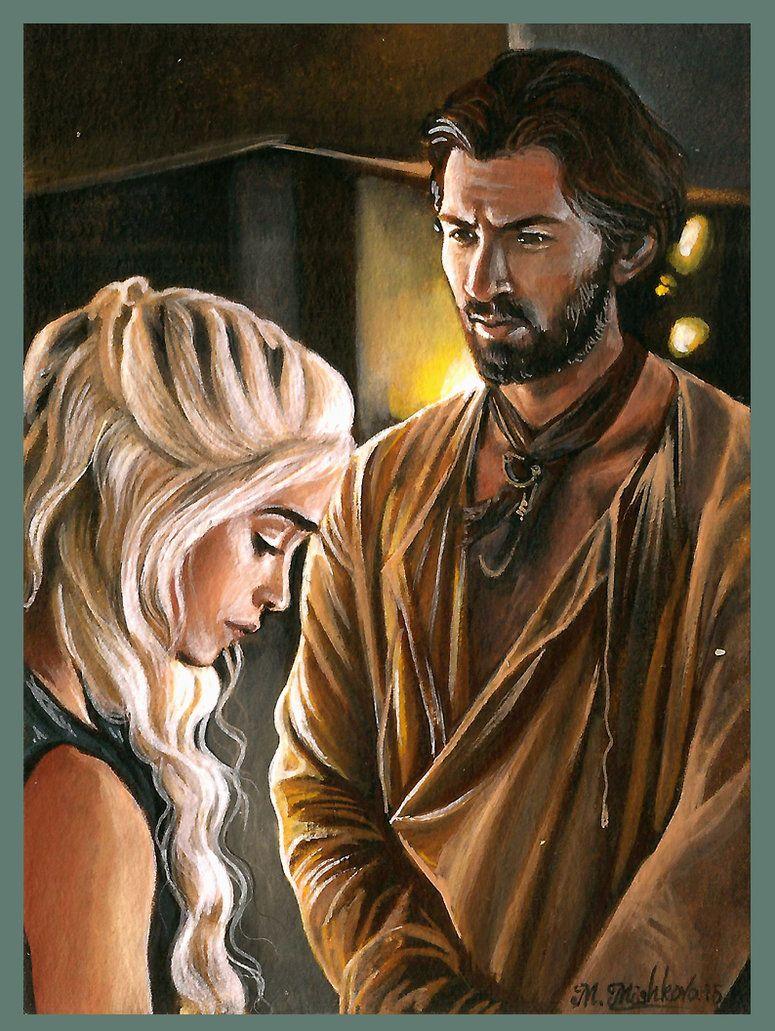 Daenerys and Daario by mandygeo | GoT / ASOIAF | Pinterest ... Daario Naharis Fan Art