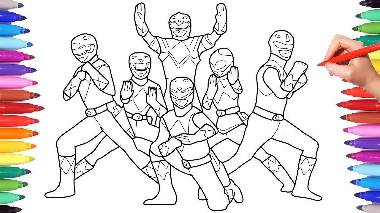 Power Ranger Coloring Pages Inspirational Coloring Pages