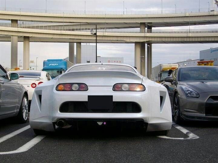 Dam Look At That Wide Bobby Kit On That Supra
