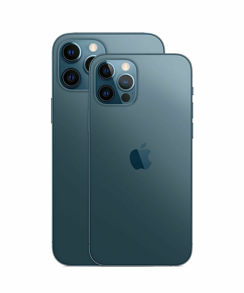 Apple Iphone 12 Pro 128 256 512gb Graphite Pacific Blue Silver Gold Unlocked Ebay Buy Iphone Iphone New Iphone