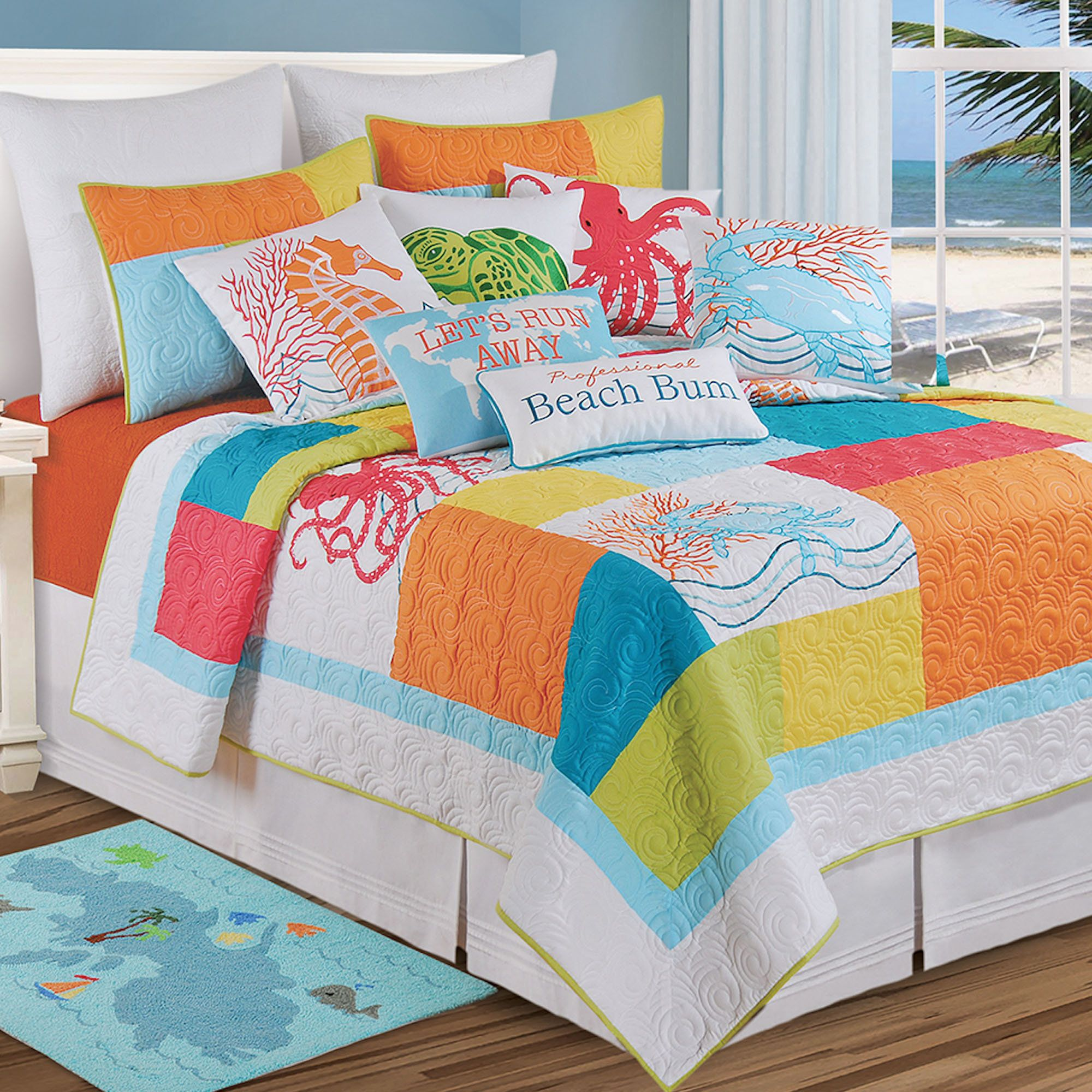 sets comforter tropical quilt quilts style coverlets full queen coverlet bedding of size inspired and covers beach