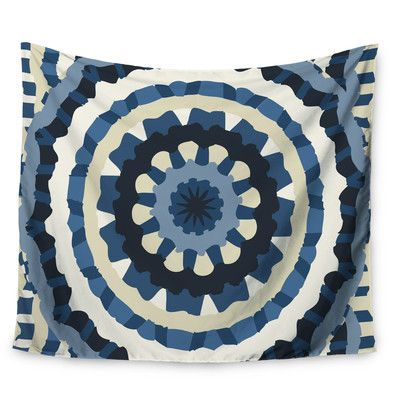 East Urban Home Ribbon Mandala by Laura Nicholson Wall Tapestry Size: