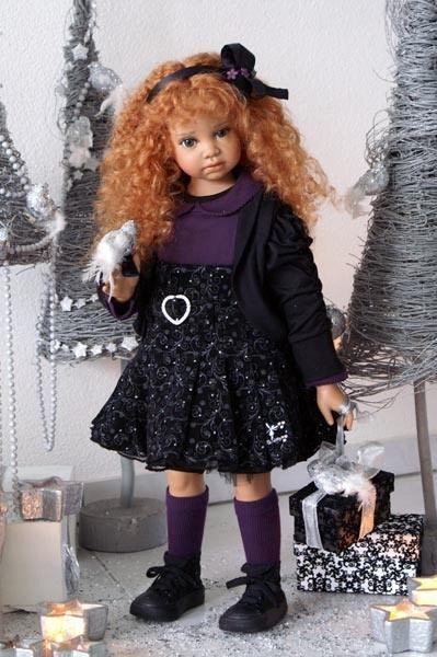 Виниловые куклы OOAK Анжелы Саттер (Angela Sutter ...