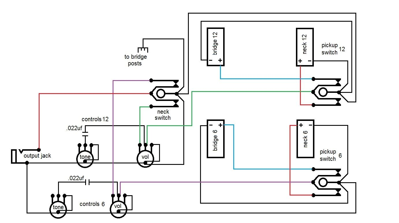 small resolution of gibson 1275 wiring diagram wiring diagram detailed vintage gibson wiring gibson eds 1275 wiring diagram copy