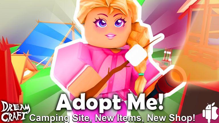 Atualizacao De Acampamento 2019 Adoption Pet Adoption Roblox