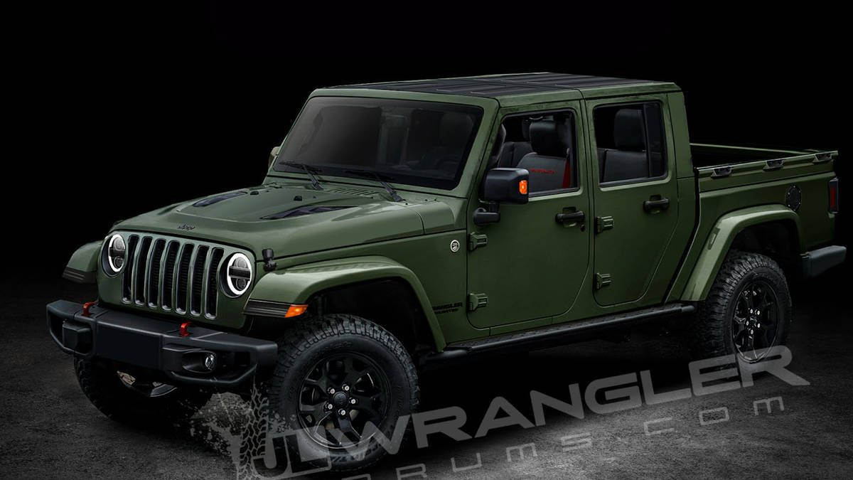 Will Be Named Scrambler Jeep Wrangler Pickup Jeep Wrangler
