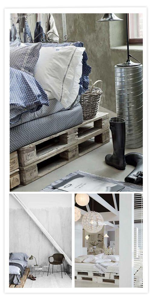 id es d co vues sur le web cette semaine palette bois pinterest bois de lit la deco. Black Bedroom Furniture Sets. Home Design Ideas